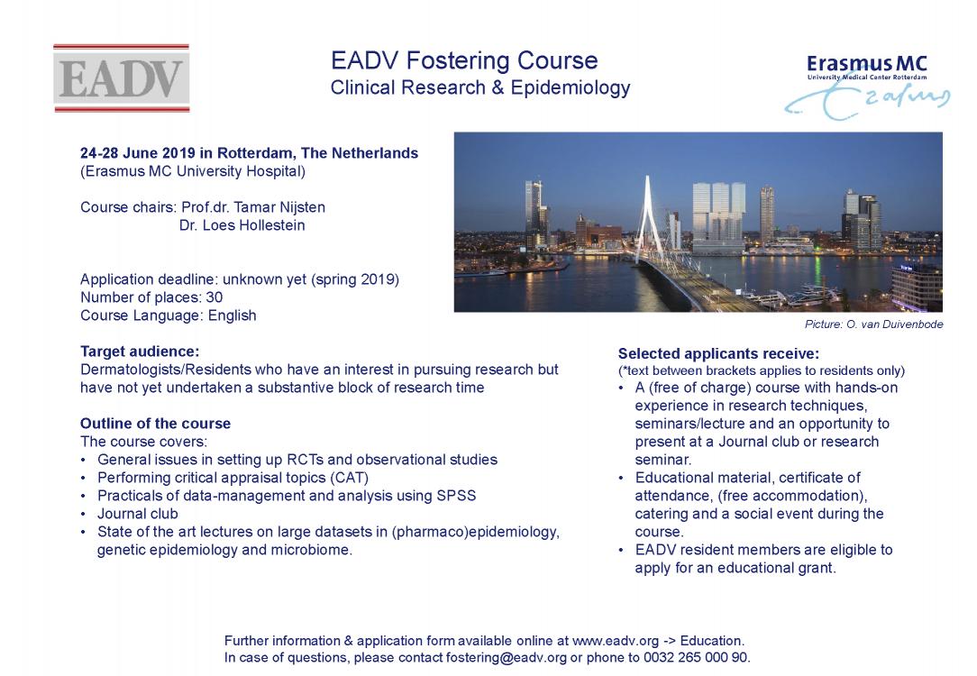 EADV flyer