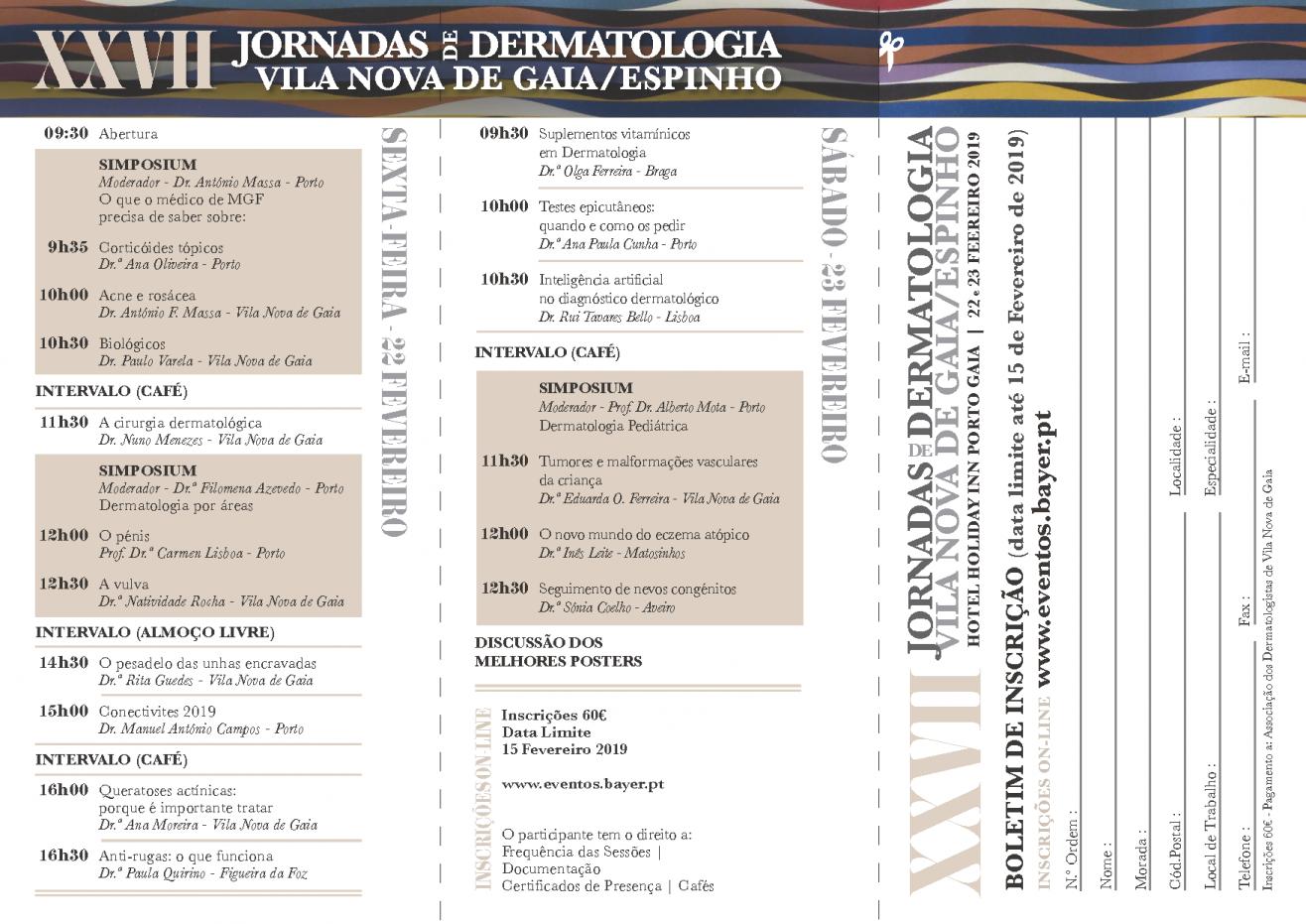 Programa XXVII Jornadas