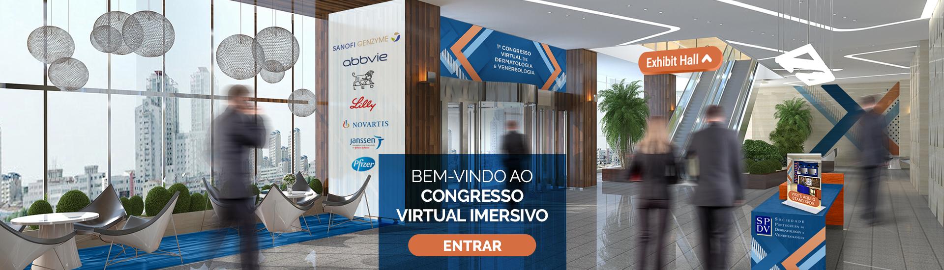 Entrada no Congresso Virtual
